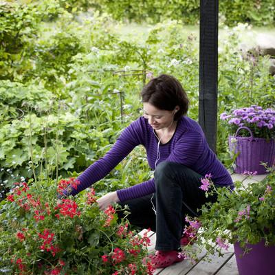 Mobillugning gør havearbejdet sjovere